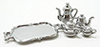 IM65421 - Silver Antique Tea Set