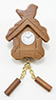 IM65425 - .Wooden Cuckoo Clock, Brown