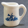 IM65487 - Porcelain Pitcher Wht/Blue