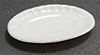 IM65516 - Oval Serving Plate, White