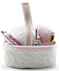 IM65549 - Bath Accessory Basket, Pink