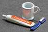 IM65635 - Set of Toothpaste, Toothbrush, & Cup, 3pc
