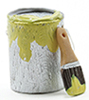 IM65647 - Paint Can and Brush Set, Yellow