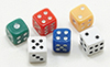 IM67055 - Dice, 6Pk, Assorted Colors