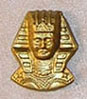 ISL2788 - Egyptian Head, Gold Color