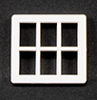 JML06 - Georgian Dormer Window, 6 Pane, 1/24th Scale
