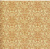 JMS32 - Wallpaper:1/2 Scale Acorns Brown On Cream