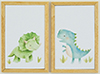 KCMKF26 - Dinosaur Picture Set of 2