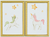 KCMKF39 - Unicorn Picture Set, 2 Piece