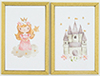 KCMKF41 - Princess Picture Set, 2 Piece