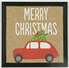 KCMXM16 - Christmas Car with Tree Picture, 1 Piece