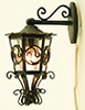 MH1011 - Ornate Carriage Lamp