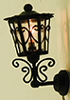 MH1036 - .Ornate Carriage Sconce