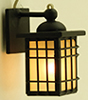 MH1049 - Craftsman Outdoor Coach Lamp, Black