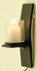 MH1052 - Modern Wall Sconce, Black
