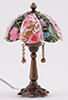MH1067 - Floral Tiffany Table Lamp