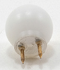 MH45021 - Round White 12V Pin-In Ceiling Globe