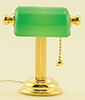 MH45147 - Reading Lamp with Green Shade