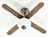 MH45168 - Ceiling Fan, Pewter, 1 light