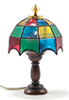 MH608 - Tiffany Table Lamp, Colored