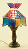 MH620 - Assorted Tiffany Table Lamps, 2/Pk