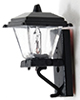 MH628NW - Black Coach Lamp, Non-Working