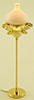 MH647 - Vict. Floor Lamp, Gold