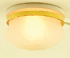 MH671 - Frosted Ceiling Light