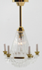 MH758 - Brass Downrod Chandelier
