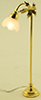 MH762 - Floor Lamp, Fluted Shade