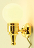 MH846 - Wall Sconce, Removable Globe