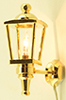 MH875 - Brass Carriage Lamp
