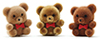 MUL105 - Bears 1In 3Pcs, Flocked