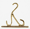 MUL1997B - Plant Hook-Gold