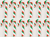 MUL2698B - Red/Green/White Candy Canes 12Pcs.