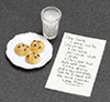 MUL3045 - Note To Santa with  Milk & Cookies