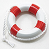 MUL4044R - 2In Life Preserver Ring Red