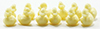 MUL5560 - Ducks, Yellow, 12 Pcs