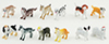 MUL5619 - Assorted Dogs, 12 Piece Set