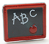 MUL5506 - Abc Blackboard 2Pcs