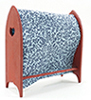 Quilt Rack, Red