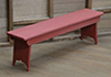 STT907R - Bench, Red