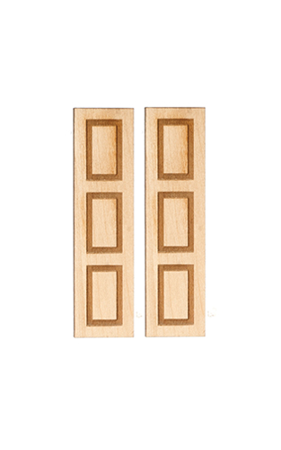 AS2011 - 3 Panel Shutters/1Pair