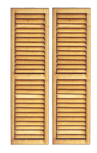 AS2012 - Working Louvered Shutters