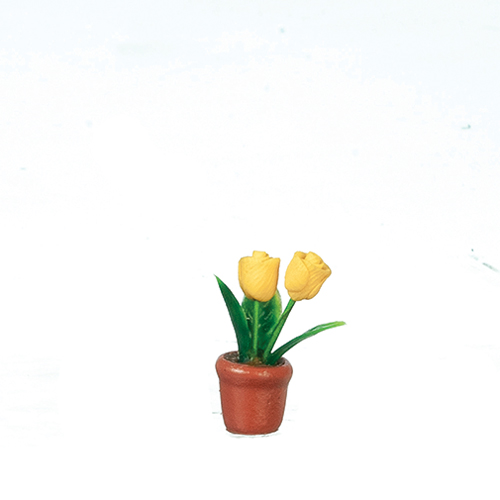 AZB0135 - 2-Pc Tulip, Yellow