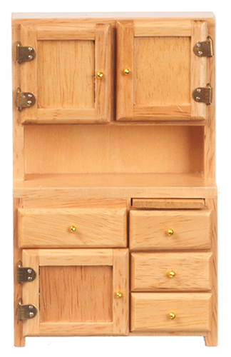 AZD3262 - Kitchen Hutch, Oak