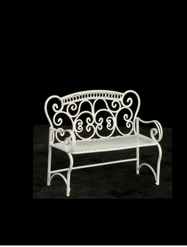 AZEIWF598 - Bench/White
