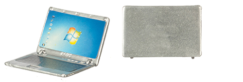 AZG7084 - Silver Metal Laptop