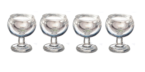1/2 Inch Wine Glasses, Set of 4