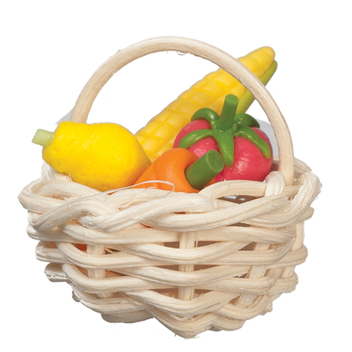 Baskets W/Vegetables/St/2